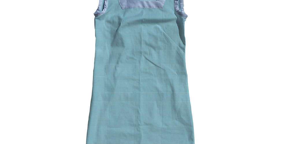 The Shift Dress - Pond Gingham
