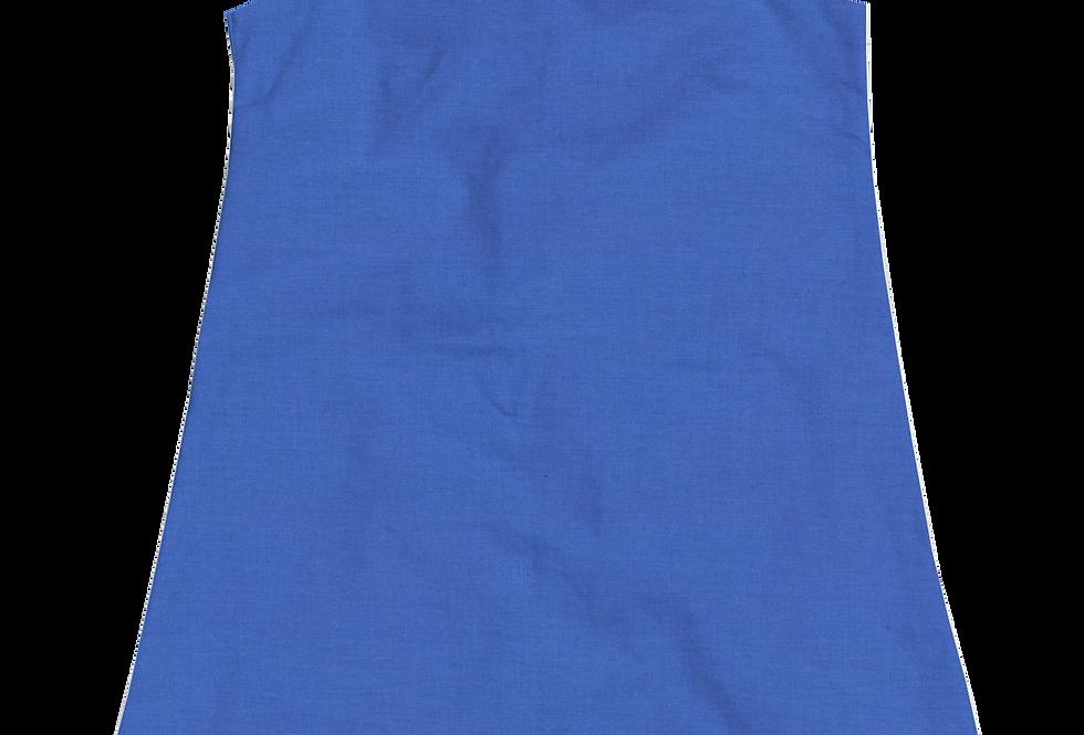 A-Line Shift Dress - Cotton Lapis