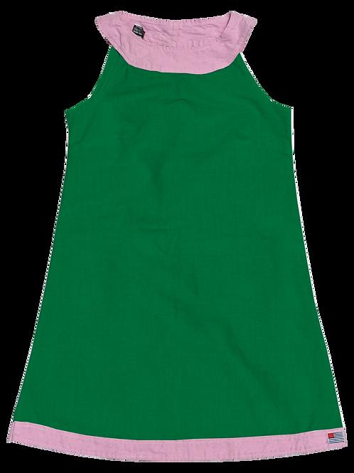A-Line Shift Dress - Cotton Clover