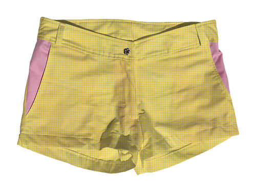 The Boat Short Small Yellow Gingham
