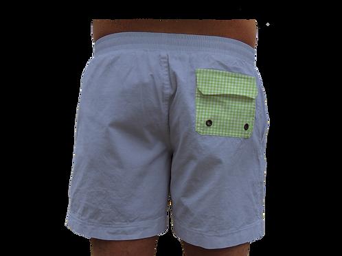 Green gingham pocket