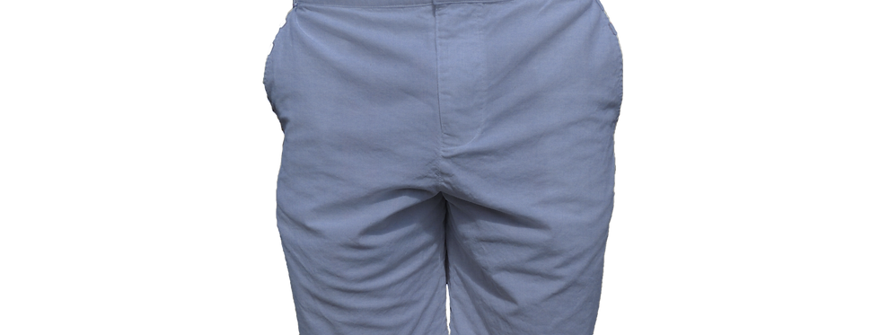 Solid Blue Oxford