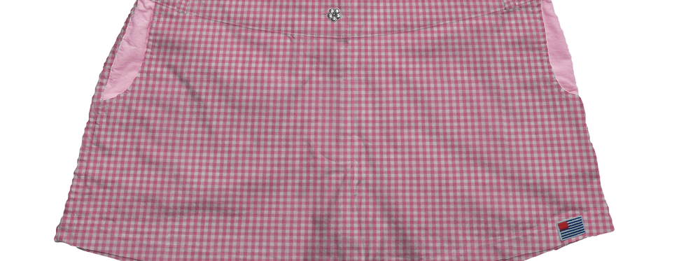 Solid Pink Gingham