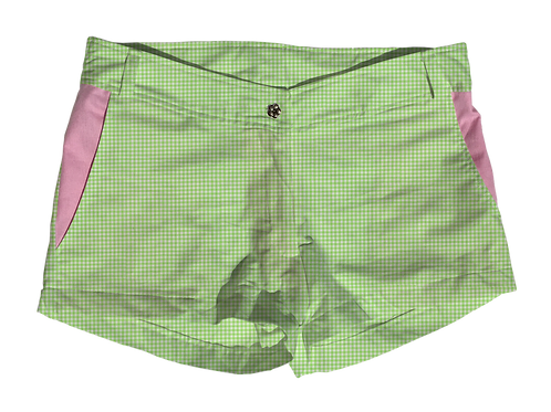 The Boat Short Small Sweet Pea Gingham