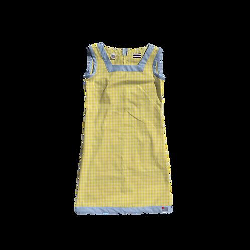 The Shift Dress - Yellow Gingham