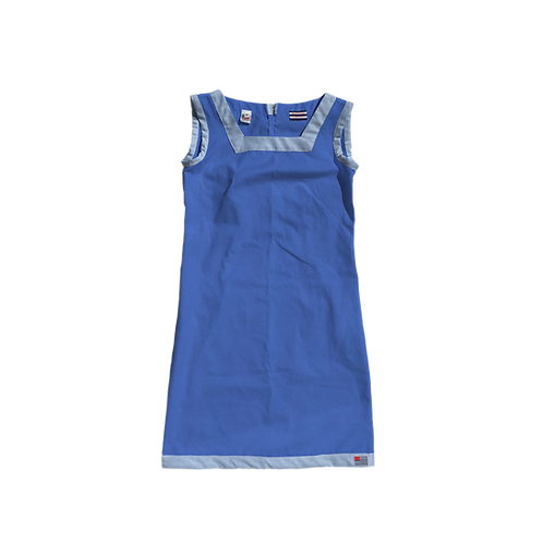 The Shift Dress - Cotton Lapis