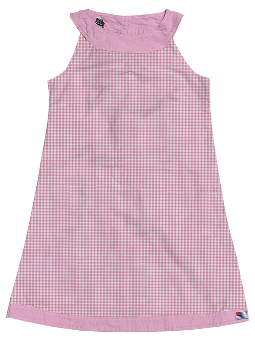 A-Line Shift Dress - Candy Gingham
