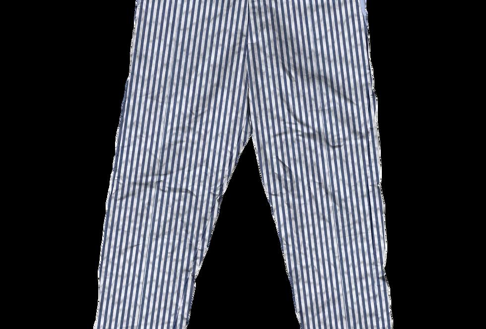 Navy Seersucker