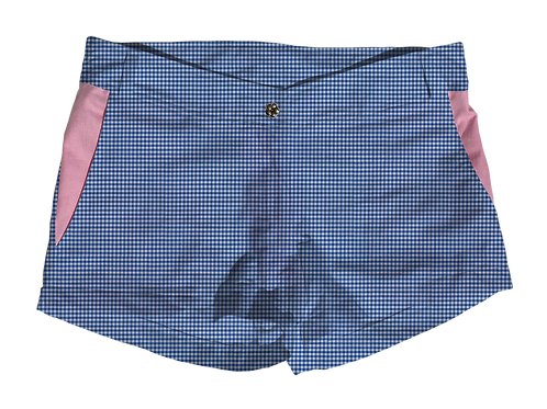 The Boat Short Small Royal Gingham