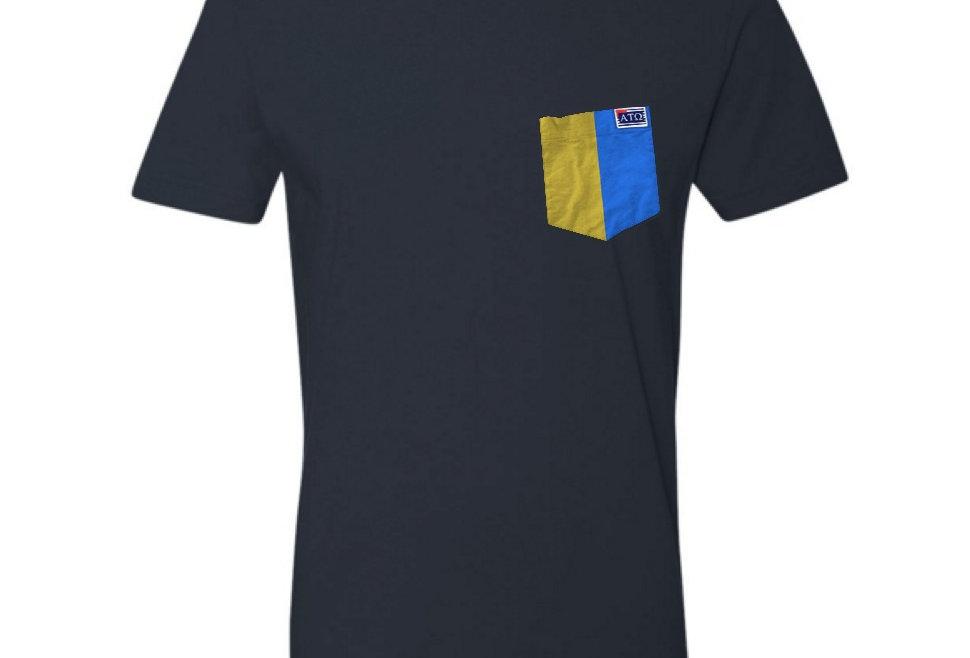Navy Crew Neck Short Sleeve T-Shirt