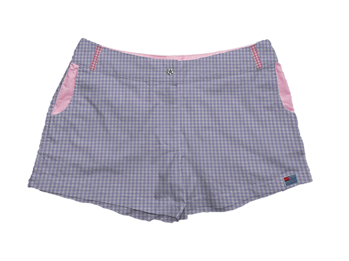 Pink Gingham Accents