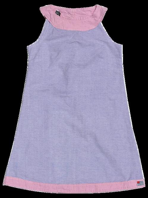A-Line Shift Dress - Lilac Oxford
