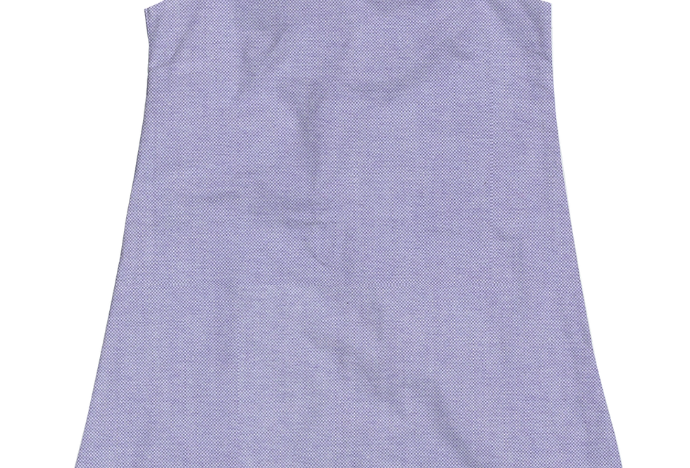 A-Line Shift Dress - Lilac Oxford
