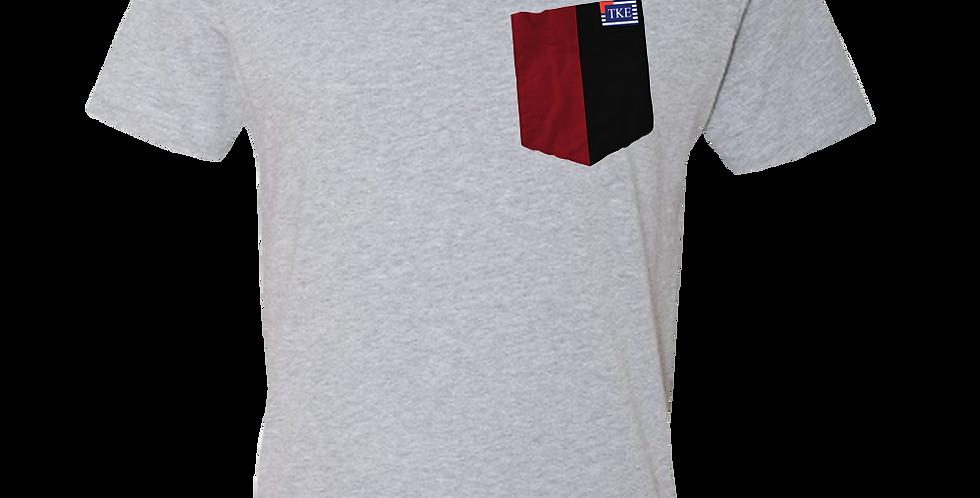 Grey Crew Neck Short Sleeve T-Shirt