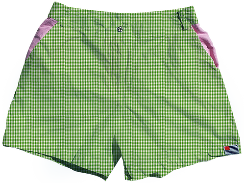The Lake Short Small Kelly Gingham