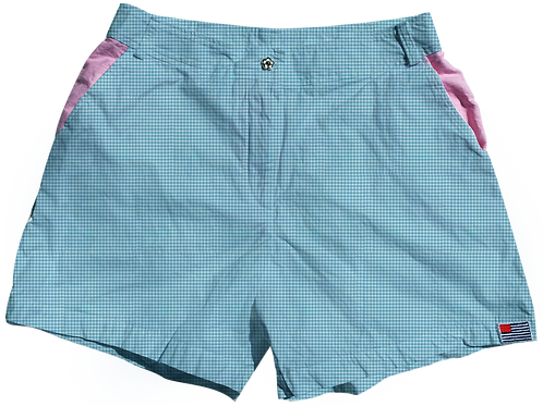 The Lake Short Small Pond Gingham