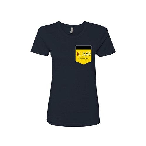KAO: Kappa Alpha Theta yellow pocket
