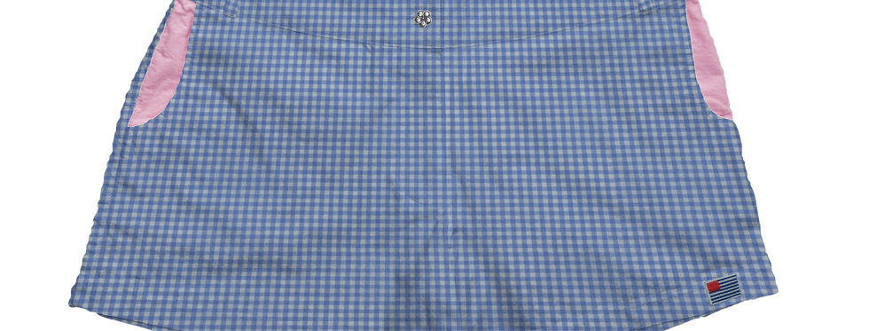 Solid Periwinkle Gingham