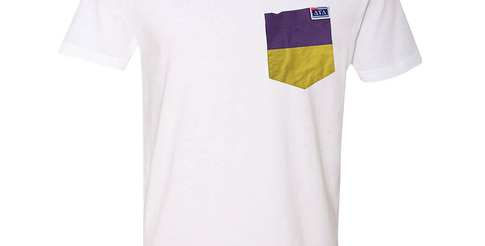 White V-Neck Short Sleeve T-Shirt