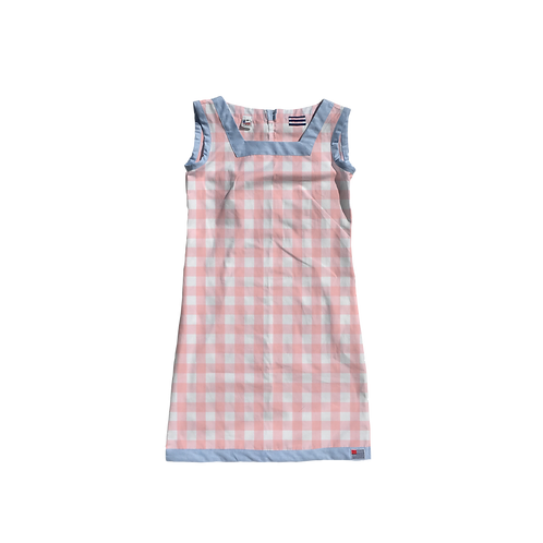 The Shift Dress - Petal Gingham