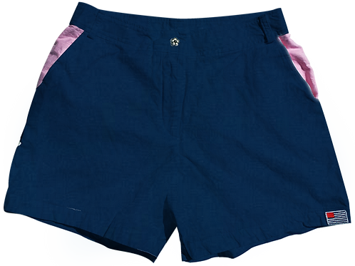 The Lake Short Solid Cotton Storm
