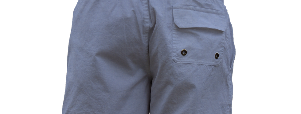 Blue oxford pocket