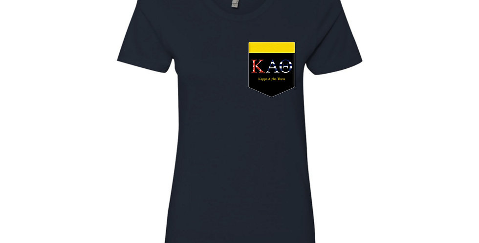 KAO: Kappa Alpha Theta black pocket