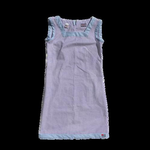 The Shift Dress - Lilac Oxford