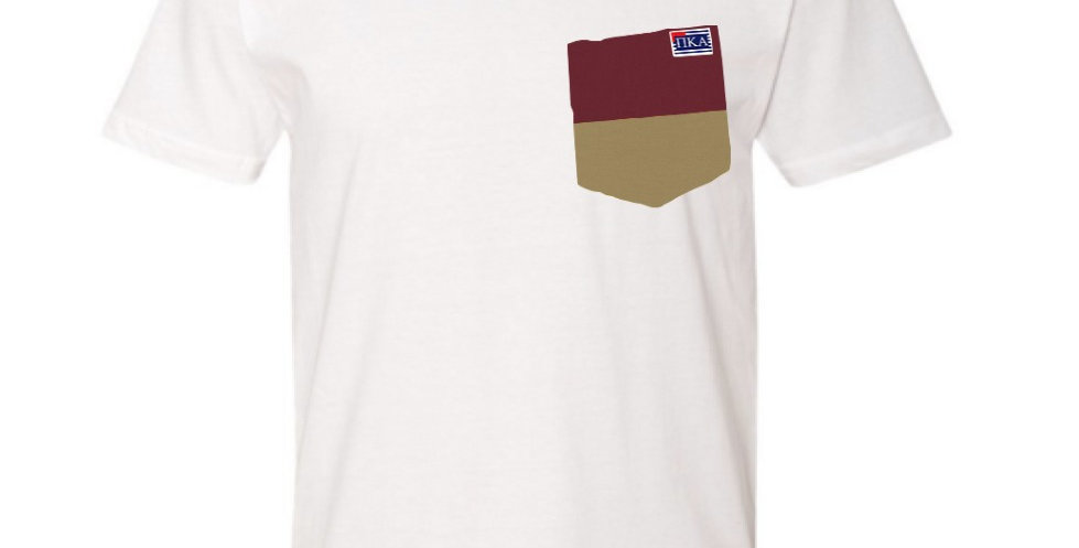 White Crew Neck Short Sleeve T-Shirt