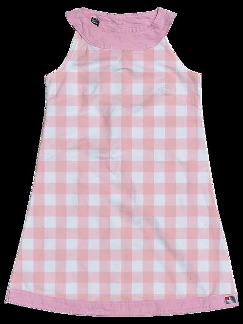 A-Line Shift Dress - Petal Gingham