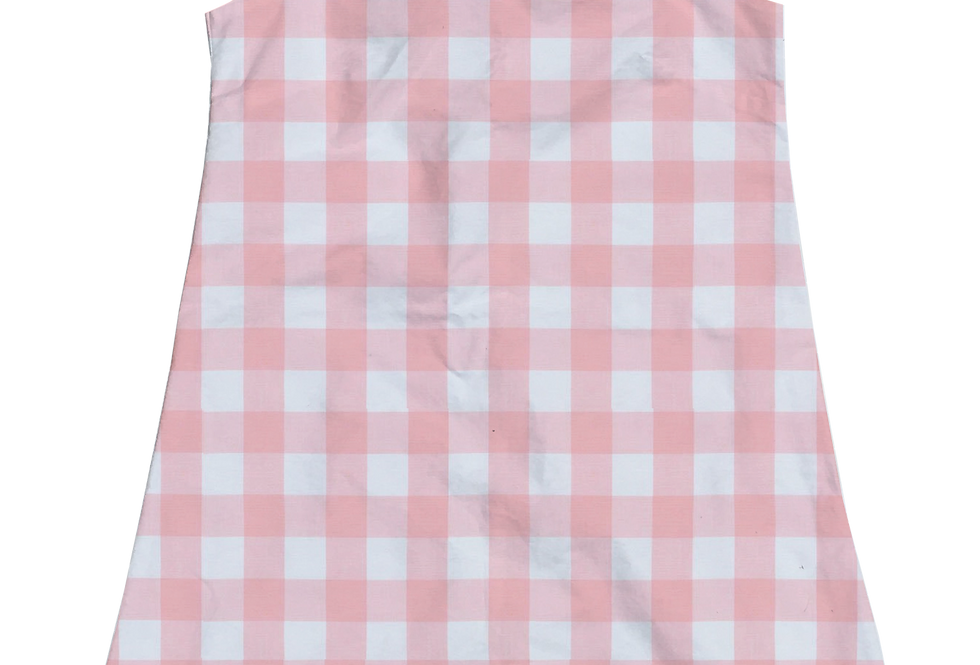 A-Line Shift Dress - Petal Gingham