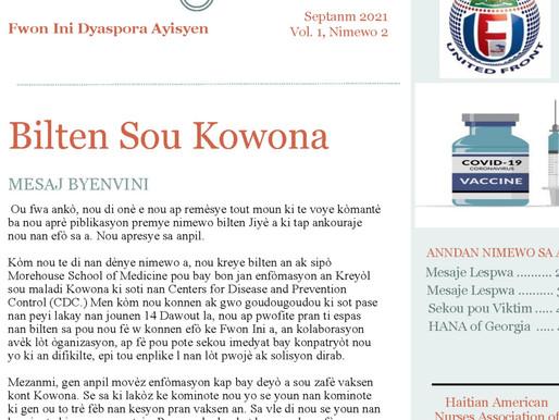 Bilten Zafè Kowona # 2
