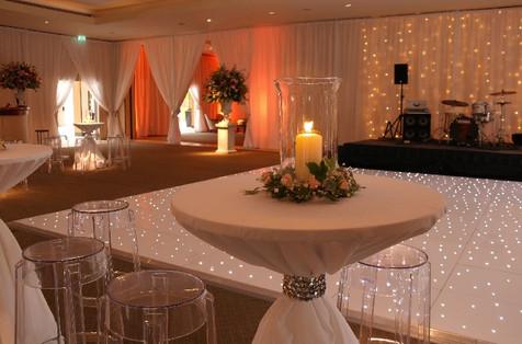 An elegant reception at The Hurlingham Club, London