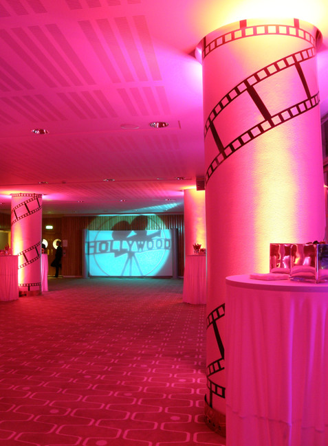 The launch of a new film at the Royal Festival Hall