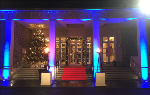 Corporate Christmas party at The Hurlingham Club, London