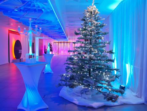 Winter wonderland at 155 Bishopsgate, London