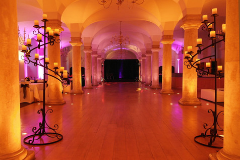 Elegant reception at the Old Royal Naval College, London