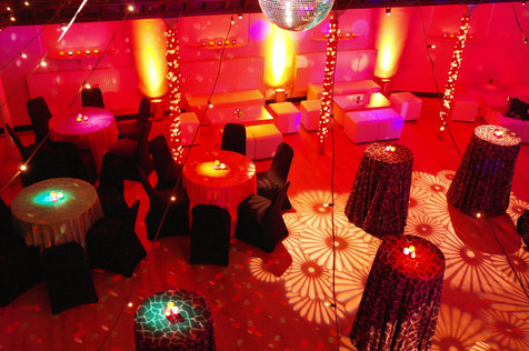 Retro party at The Amadeus Centre, London