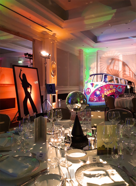 Austin Powers Christmas party at the Four Seasons, Hampshire