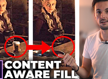 Remove Anything From Your Videos (just like GAME OF THRONES did)