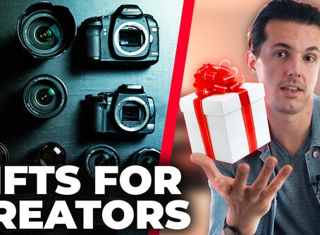 15 Christmas Gifts Ideas for Photographers & Filmmakers