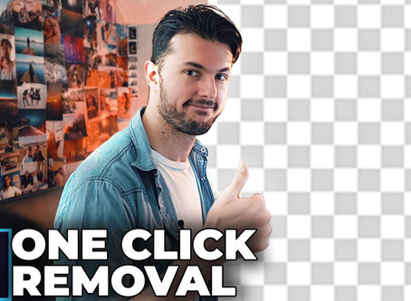 Photoshop 2020 - Remove Backgrounds in ONE click