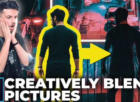 How To Creatively Blend Two Images In Photoshop CC 2020