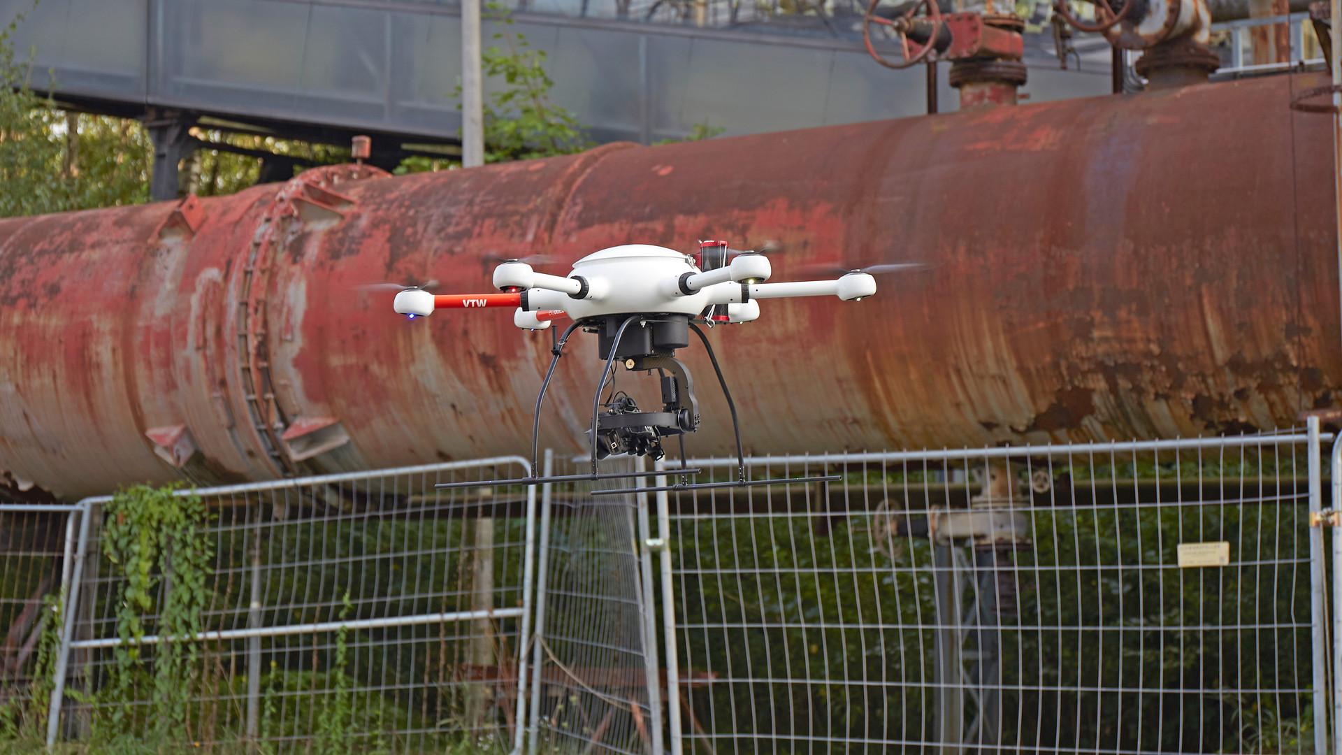 3D Luftbildvermessung Drohne