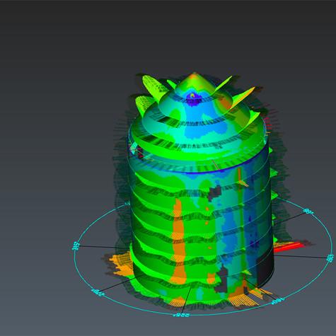 Projekt 1 - Deformationsanalyse zweier baugleicher Behälter