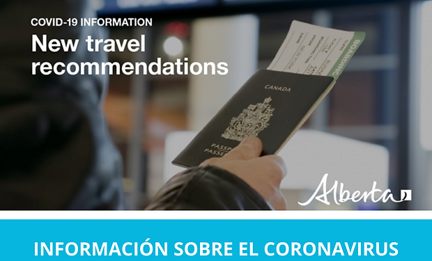 2020-03-13 Spanish New travel recommenda