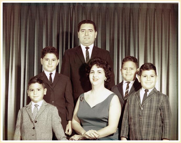 The Capdevila Family 1966