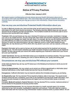 EPMC HIPAA Privacy Notice