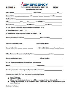 EPMC Registration form