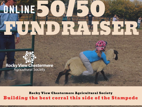 Have Your Purchased Your 50/50 Tickets?